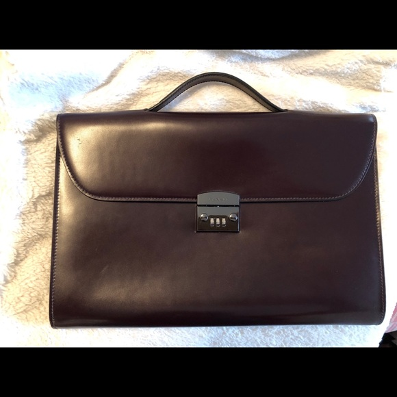 Canali Luxury Toiletry Bag By Canali Brand New